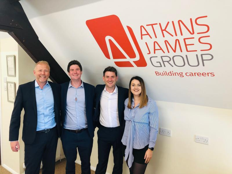 Onto pastures new for Atkins James...